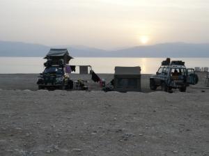 Dead Sea Israel Camping
